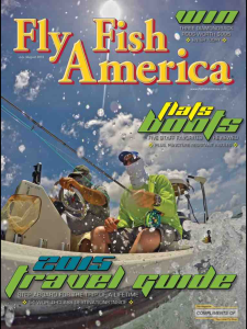 Fly Fish America July/August Cover